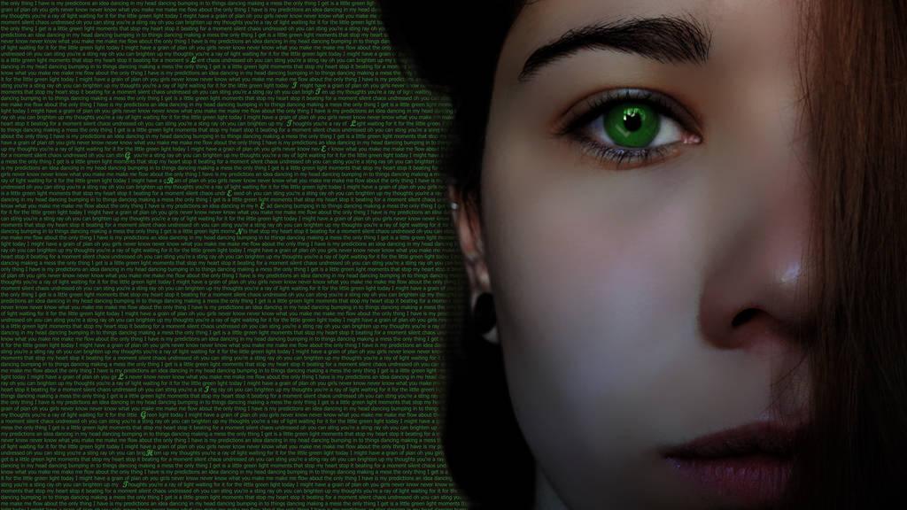 Little green light by Dandejure