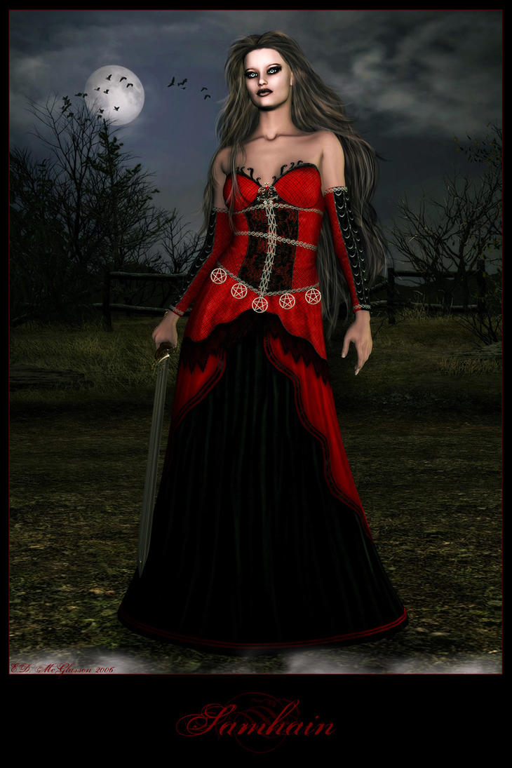 Samhain by Bloodredsangre
