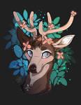 Flower Deer