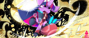 TMBA - Twilight Sparkle fight in Space