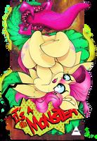 TMPA - Flutter Shy - It's a Monster ! by AHEKAO