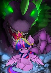 [Commission] Princess Twilight Sparkle and Spike