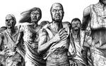 Zombie Horde on the Move