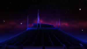 Space Mountain - Night