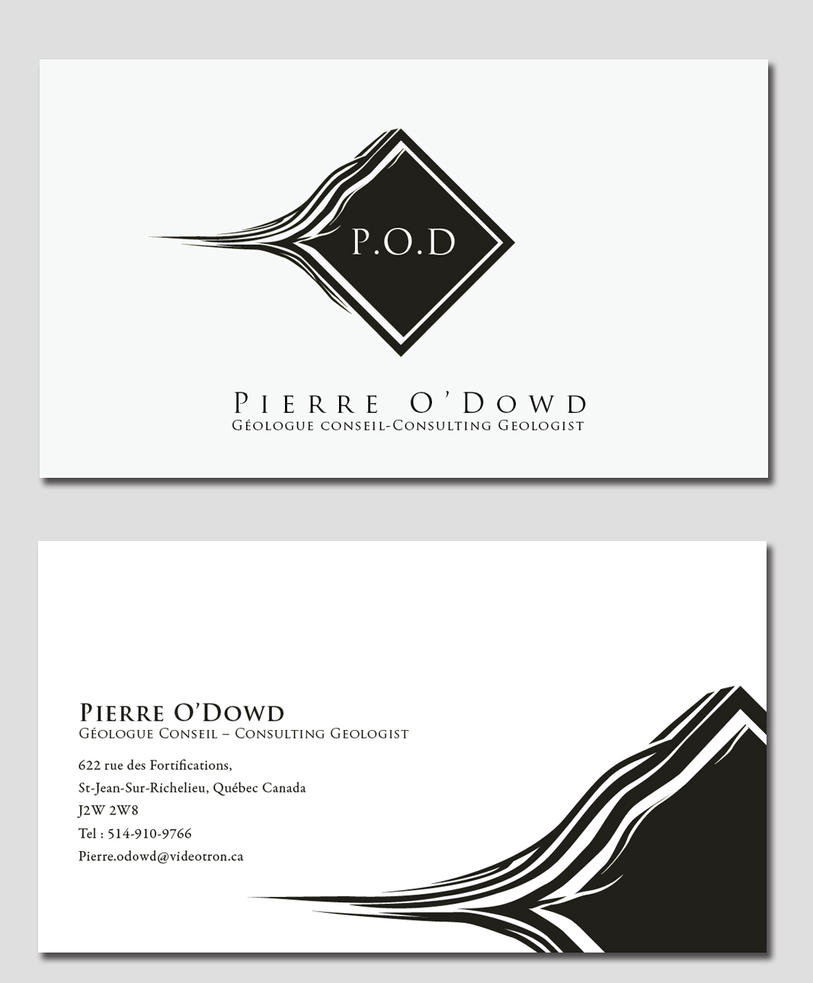 Geology business card by laesir on DeviantArt
