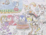 Happy Anniversary n'18 Sonic