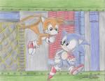 Classic Sonic-Metropoly Zone