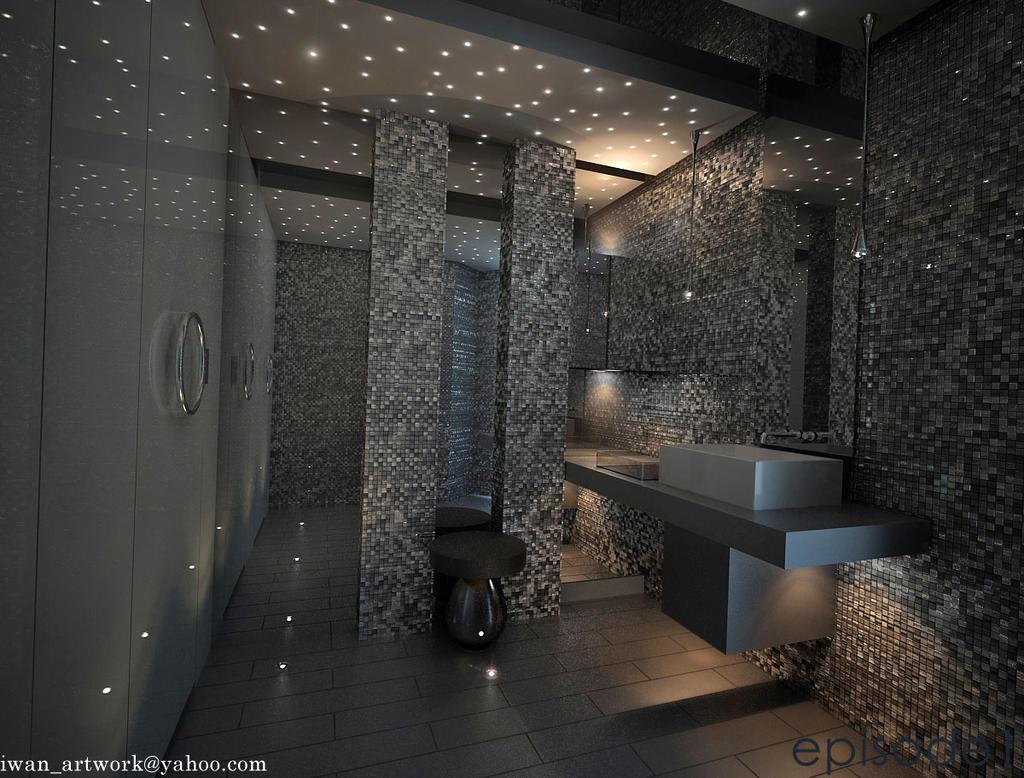 3D Powder Room02 by iwan-artwork