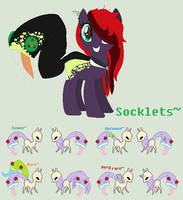 Socklets Specie Ref ahahhaha by BluesStuff