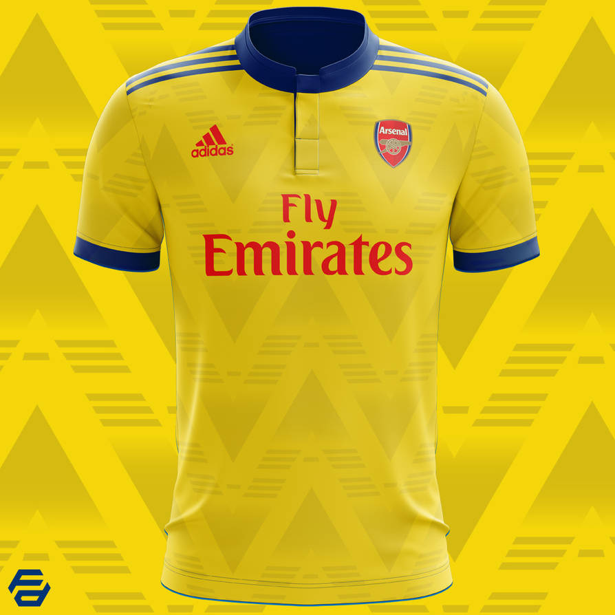 cc6e84a6 Arsenal FC - Bruised Banana - Concept Kit by footydesignBE