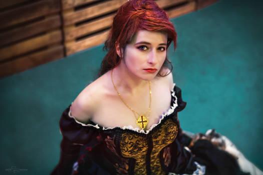 Elise de la Serre Versailles Ball Gown