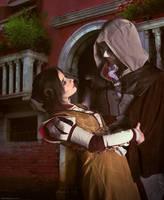 Ezio and Cristina cosplay