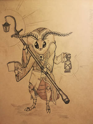 Mothman, Priest of LAMP by Plaguedoctor5
