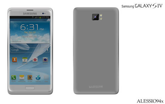 Galaxy S IV Concept (second version)