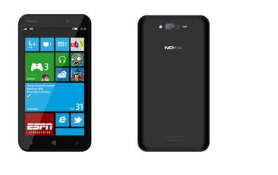 Lumia 860 Concept Black