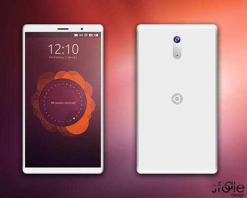 UPhone, the first phone with ubuntu