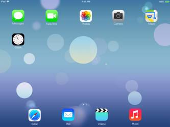 iOS 7 for iPad Concept