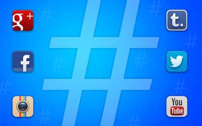 Hashtag everywhere!!!
