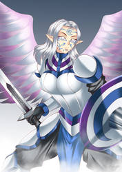 Silver - Holy Warrior by HaryuDanto