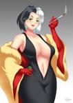 Bimbo Cruella de Vil by HaryuDanto