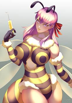 Bee-girl Sakura Matou