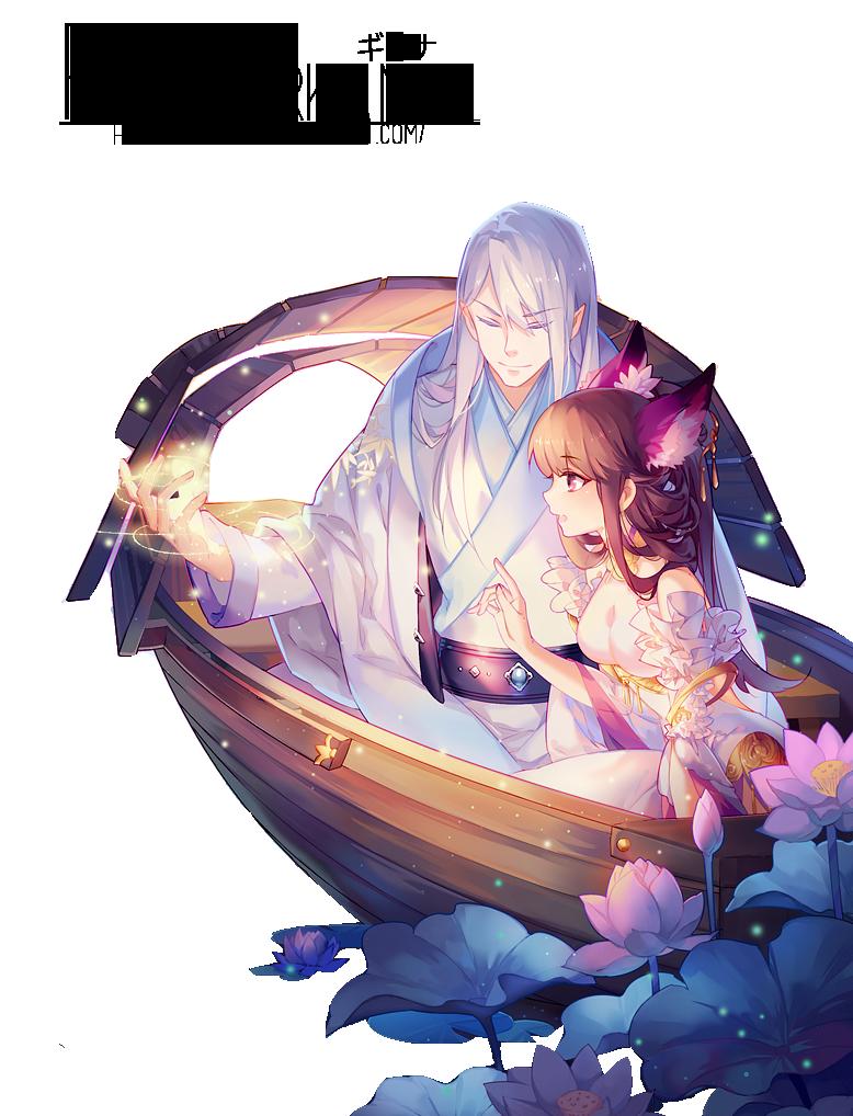 renders Hanabi by kanall