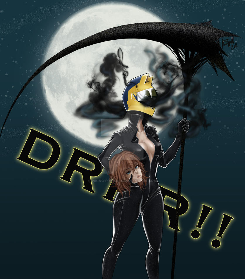 Dullahan Durarara Dullahan Celty Color b...