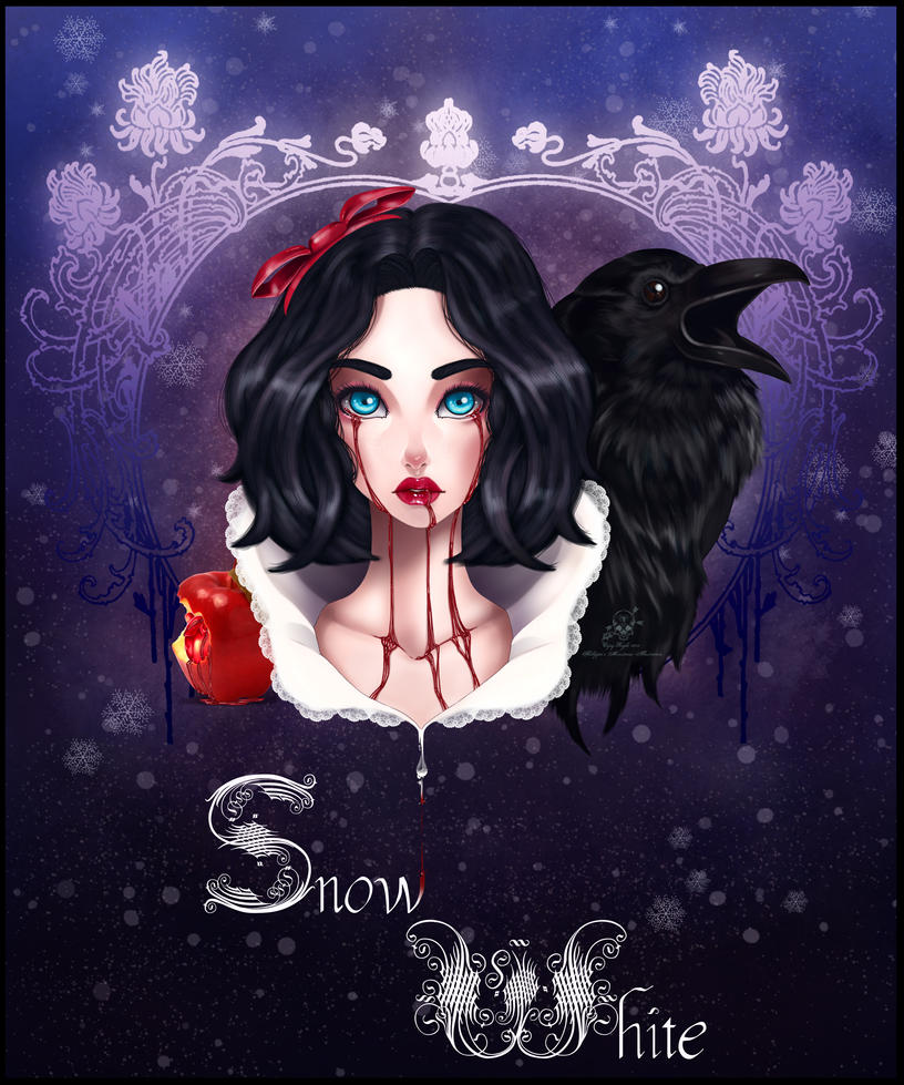 Deathly Snow White by Viking-Princess on deviantART