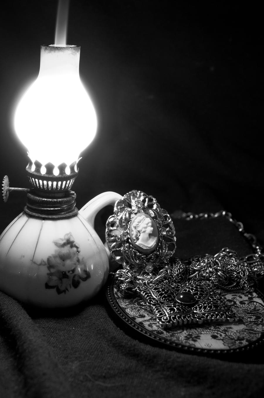 Lamp and Cameo by phoenixfire530