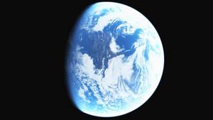 High Res Earth Like Habitable Planet Stock