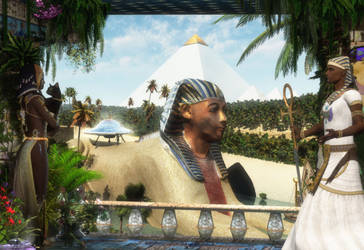 The Golden Age of Egypt by extraterrestrialarts