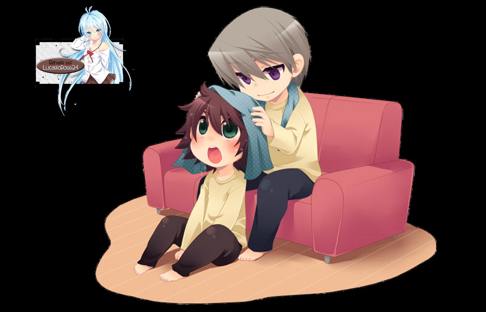 Misaki And Usagi Wallpaper Usagi and Misaki Rende...
