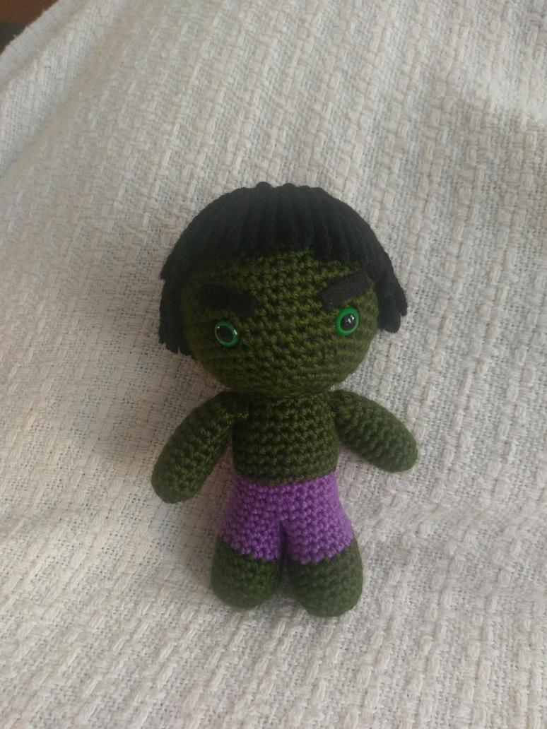 Little Crochet Hulk! by jenny3793