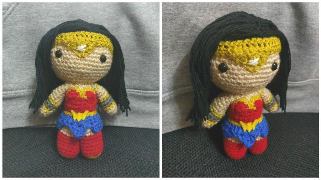 Mini Wonder Woman! by jenny3793