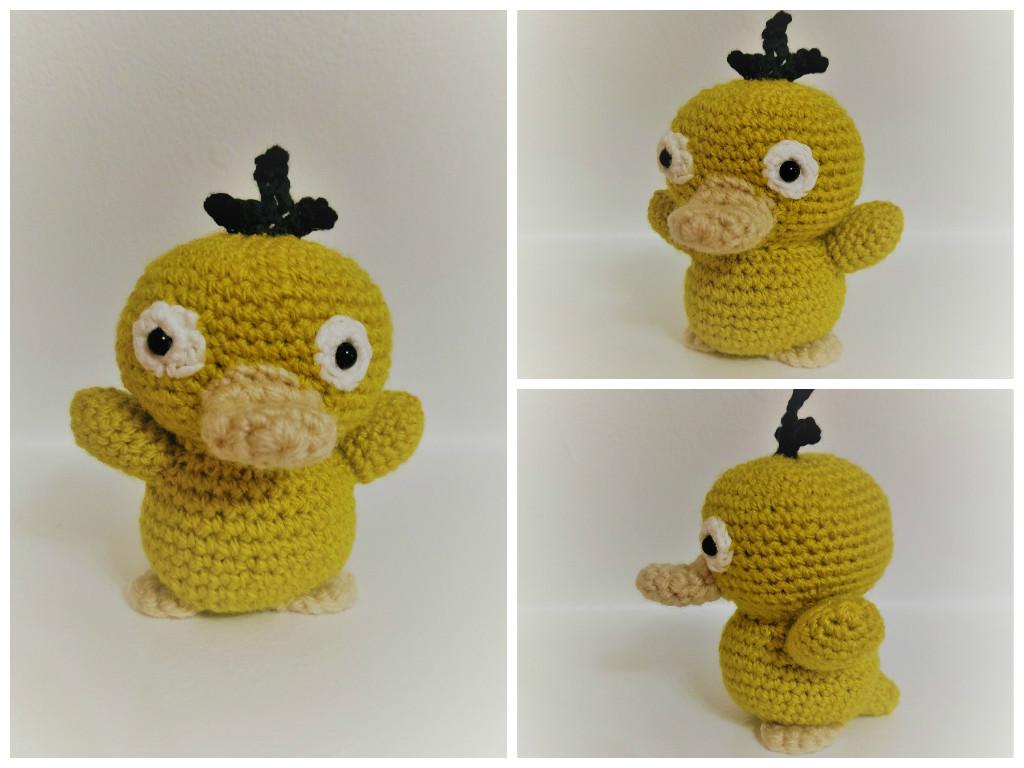 Little Crochet Psyduck! by jenny3793