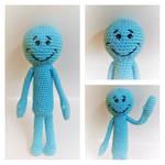 Crochet Amigurumi Mr. Meeseeks