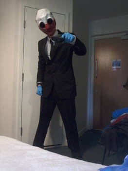Wolf Cosplay (PayDay: The Heist)