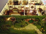 Hand Made Mini Hobbit Hole