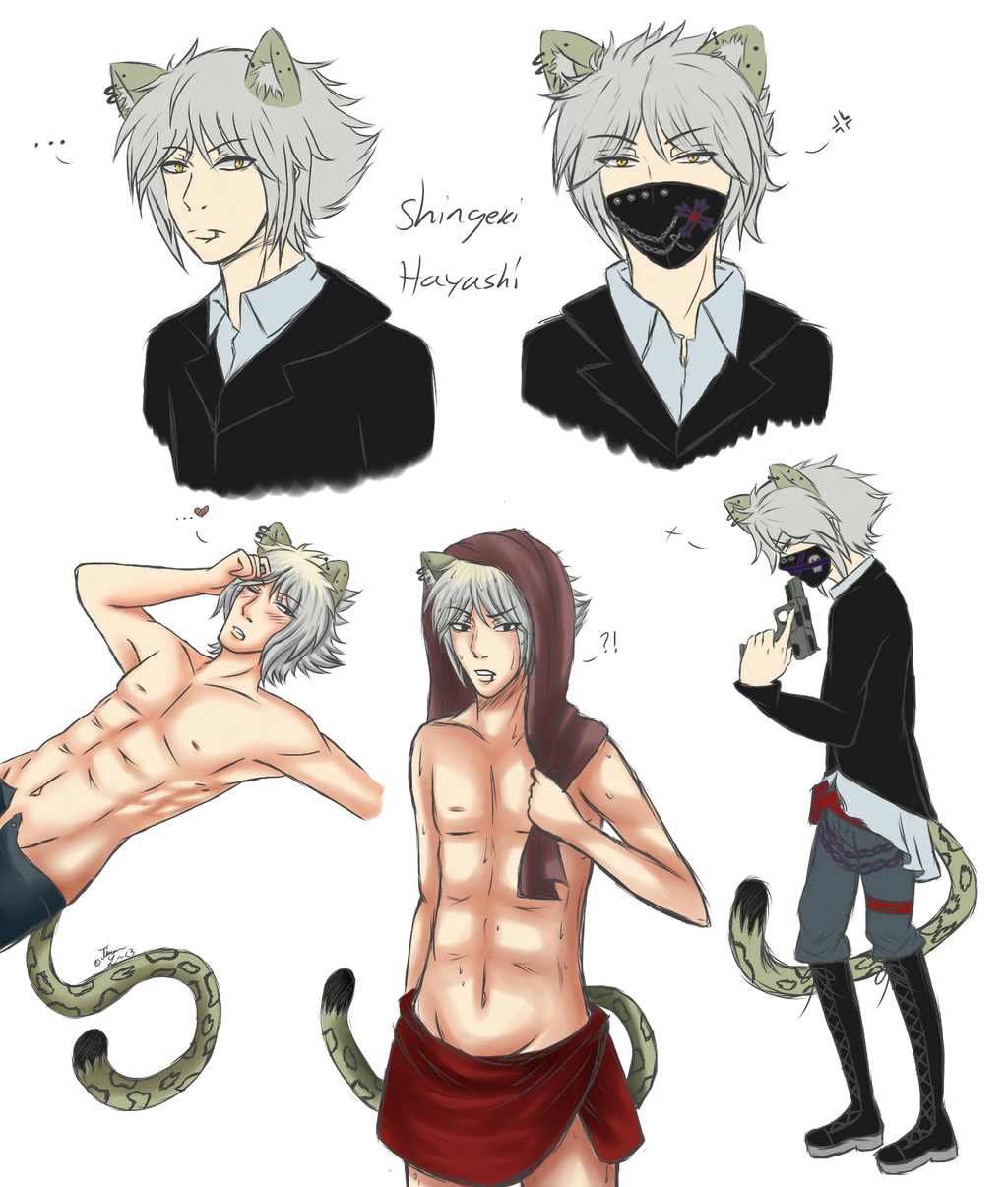 Shigeki hayashi doodles .:OC:. by KuudereSenpai on DeviantArt