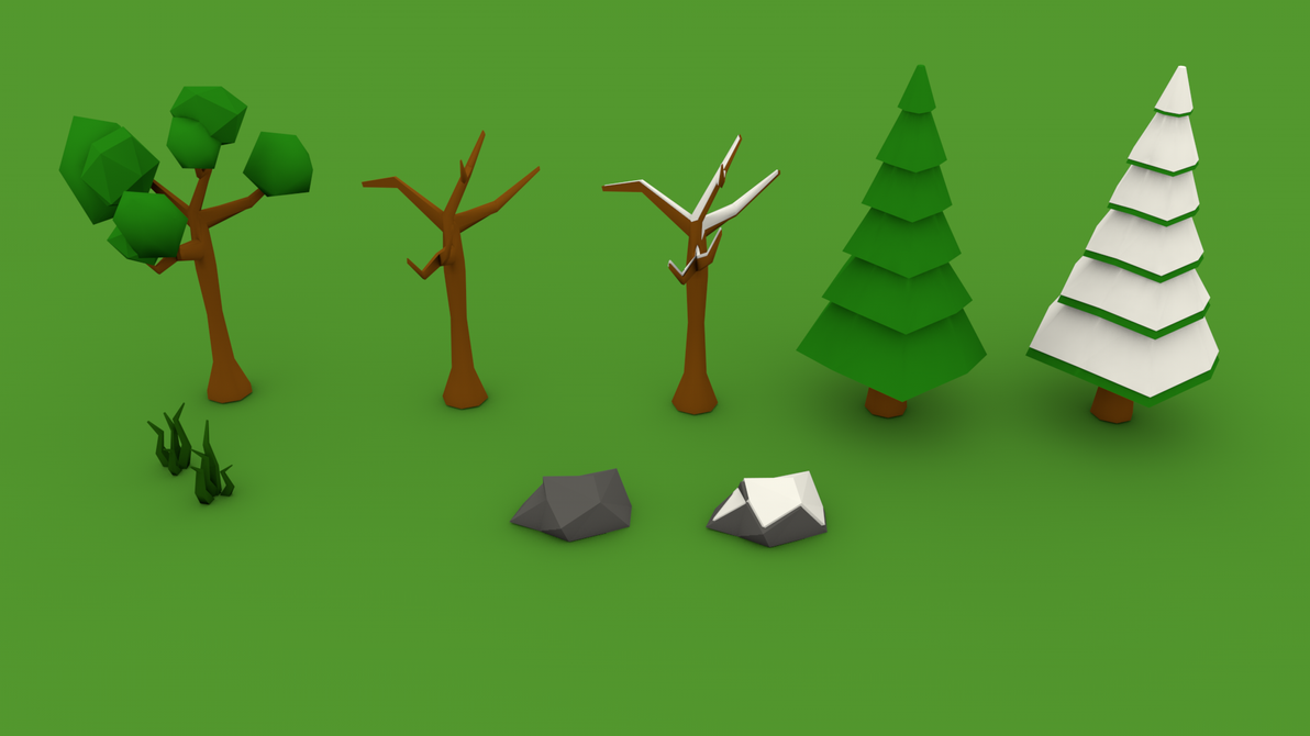 Forest Props by Shaostyle