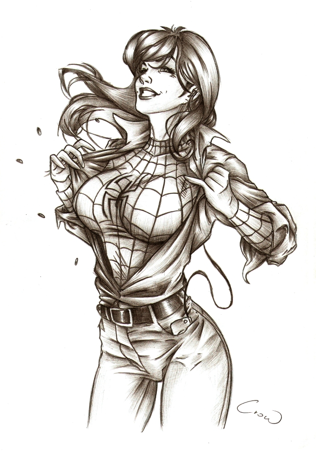 Women Of Marvel Mary Jane By Mhroczny On DeviantArt