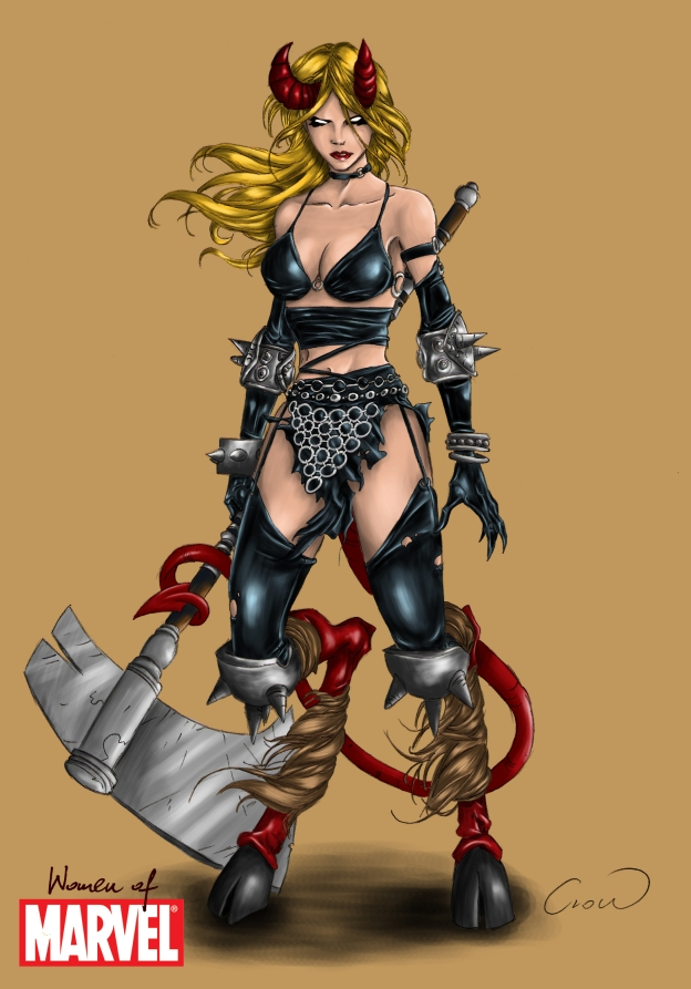 [Mision Lynnel] Liberen a la bestia interna. Estampida en Lyneel Women_of_Marvel__Magik_colored_by_mhroczny