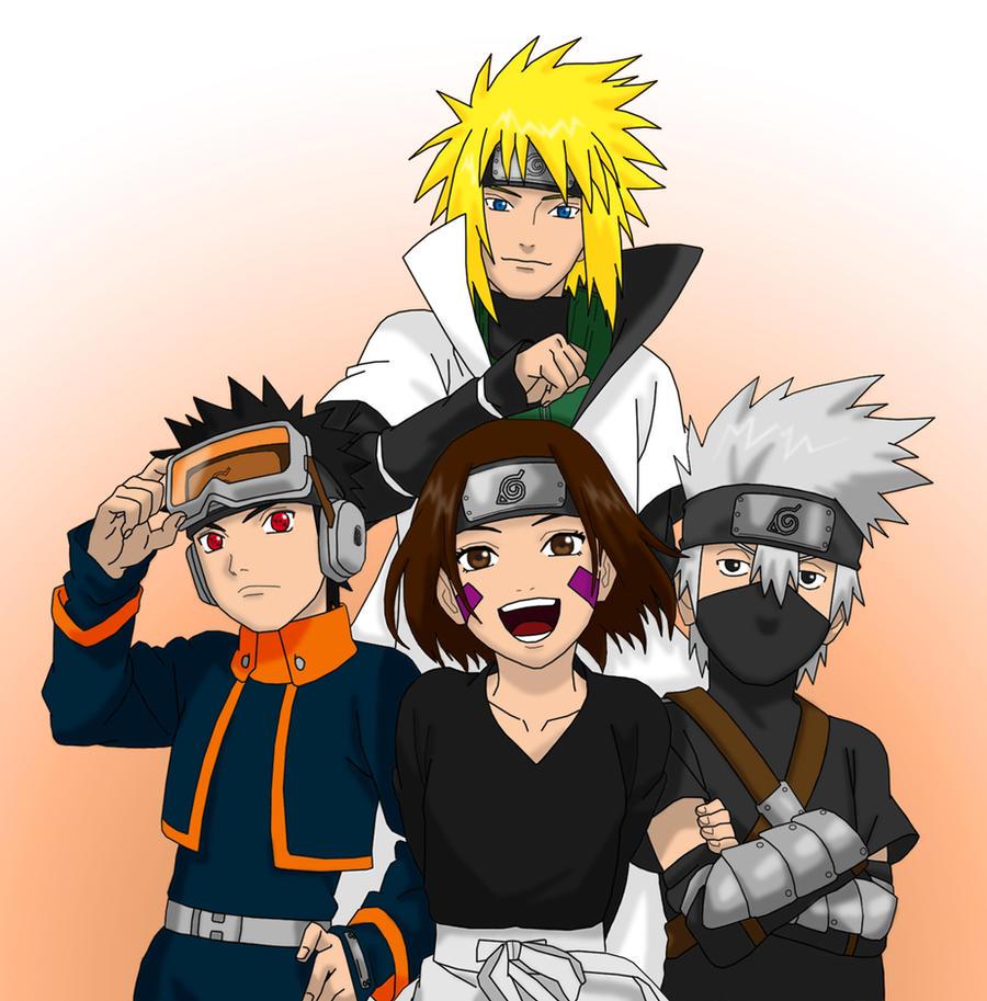 Minato Team by KakashiHatake88