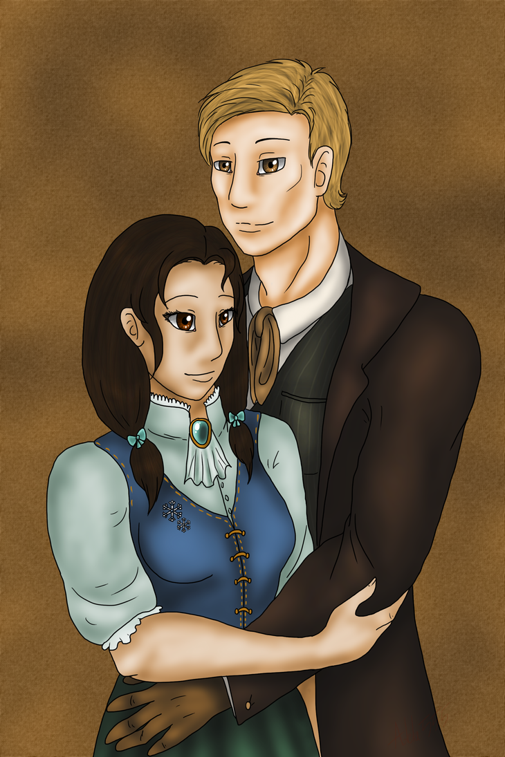 Old painting by Adela555