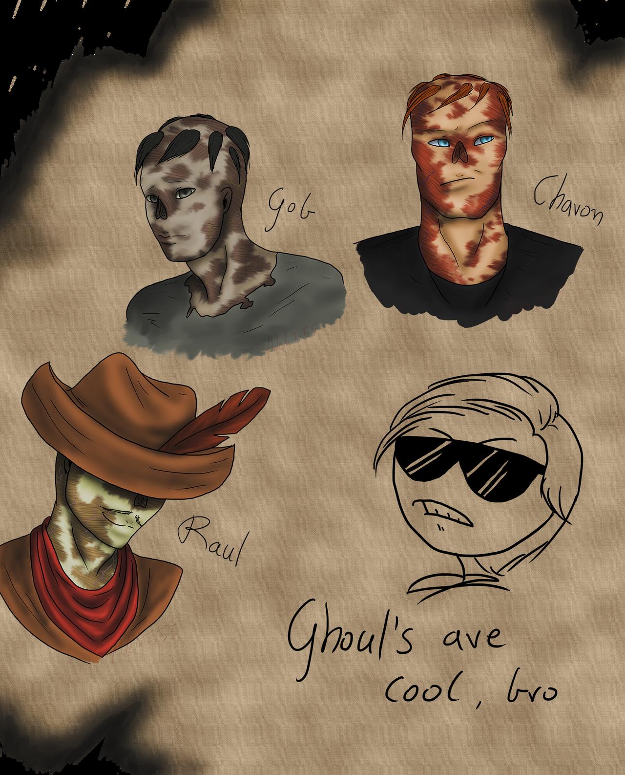 Ghouls by Adela555