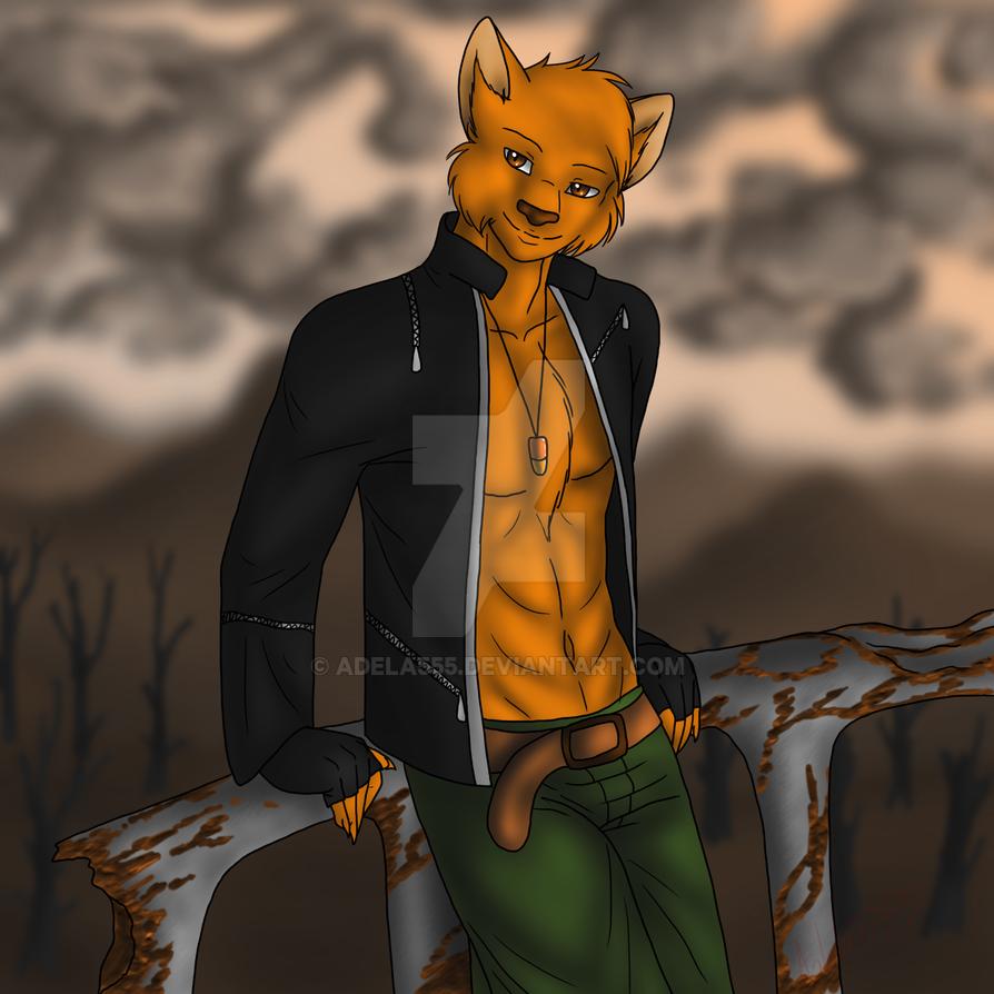 Ginger cat by Adela555