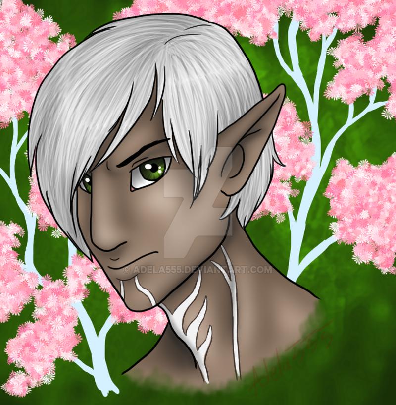 One broody elf by Adela555