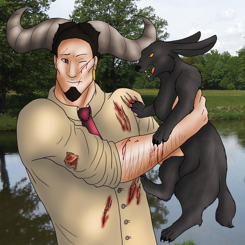 AD - polowanie by Adela555