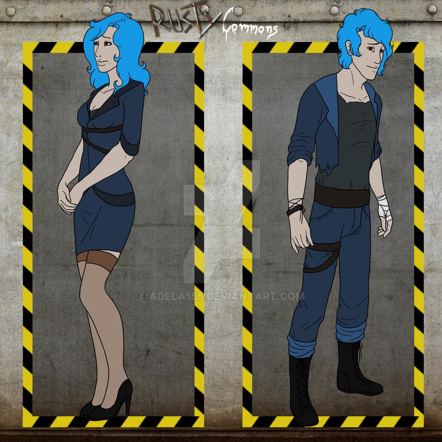 RC - Genderbender Rita by Adela555