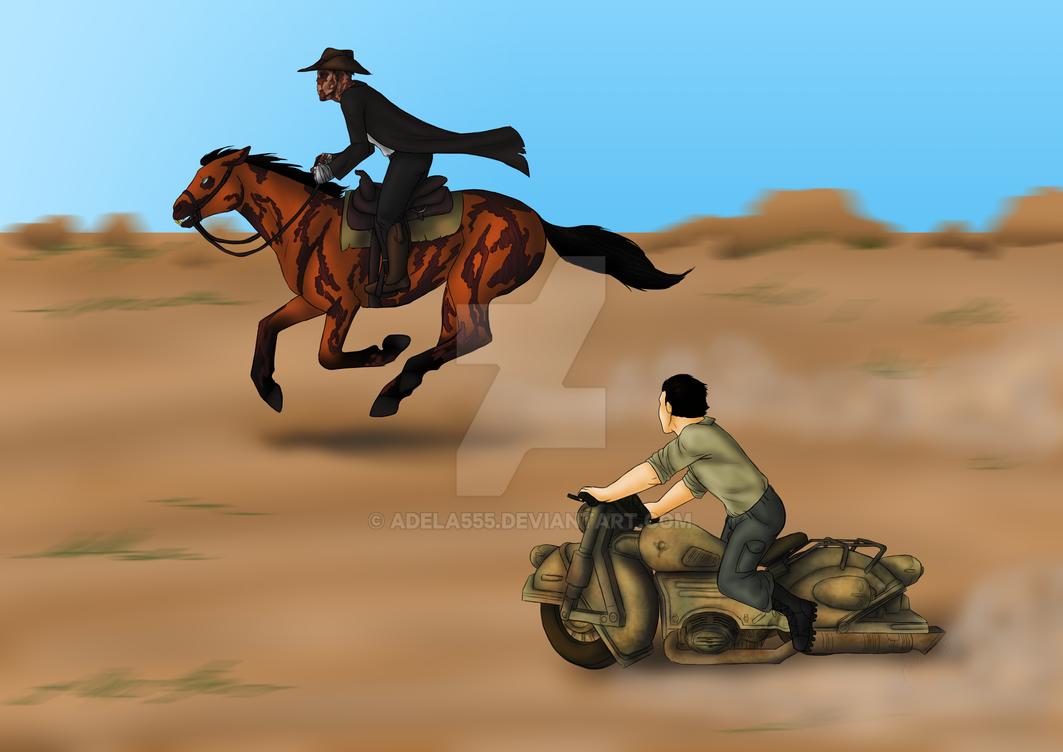 Wild Race by Adela555